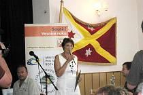 Starostka Skotnice Anna Mužná poděkovala všem obyvatelům obce.