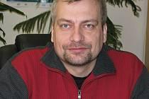 Starosta obce Závišice Zdeněk Vajda.