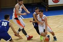 Basketbalisté Nového Jičína.