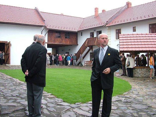 Zpřístupnění rodného domu Johanna Gregora Mendela.