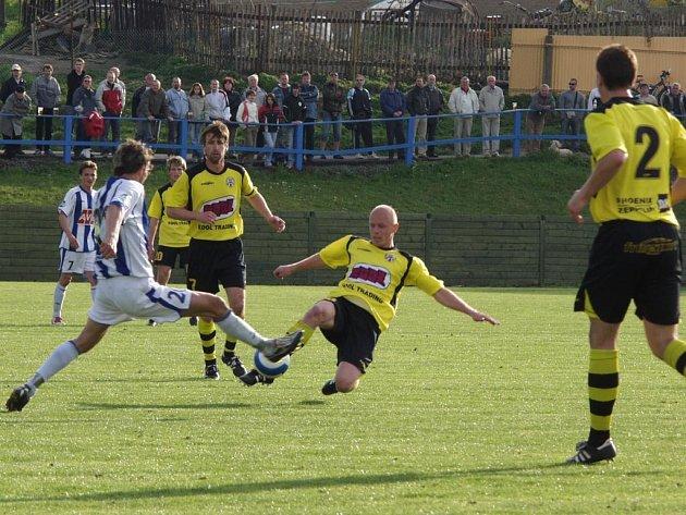 Fotbalisté Jakubčovic podruhé v řadě doma prohráli. Tentokrát byl nad jejich síly nováček z Čáslavi.