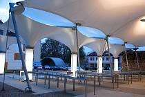 V pondělí 19. října 2009 byla v Novém Jičíně slavnostně otevřena rekonstruovaná tržnice. Ilustrační foto.