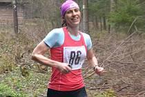 ČLENKA AKEZ Kopřivnice Darina Krausová byla mezi ženami na druhém místě za vítěznou Klárou Rampírovou, jež se specializuje na vytrvalostní závody.