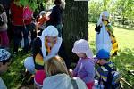 Večerníčkův pohádkový les pobavil o prosluněné sobotě více než stovku dětí v novojičínské místní části Loučka, v areálu zdejší Orlovny.