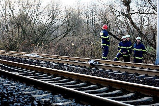 Tragická nehoda na kolejích. Ilustrační foto.