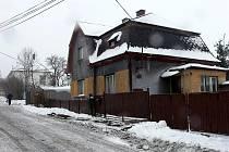 Dům v Pohoři, místní části Oder, kde dvaadvacetiletý Martin Kunc brutálně ubodal svého otce.