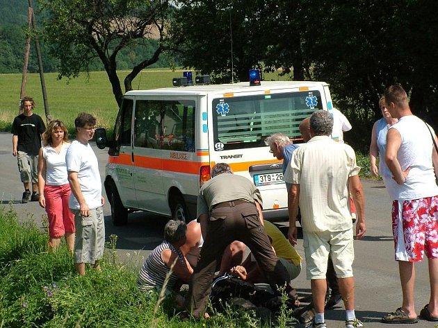 Setkání pod Trúbou poznamenala tragická nehoda motocyklisty Jana Houště ze Spytihněvi.
