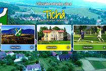 Nové webové stránky obce Tichá.