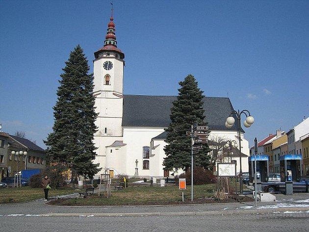 Kostel svatého Mikuláše v Bílovci.