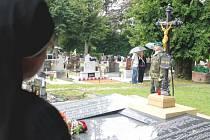 Rekonstrukce se dočkalo pietní místo věnované obětem Velké války v Odrách.