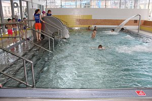 Otevření zrekonstruovaného bazénu v Novém Jičíně