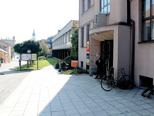 Příborská pošta na ulici Jičínské.