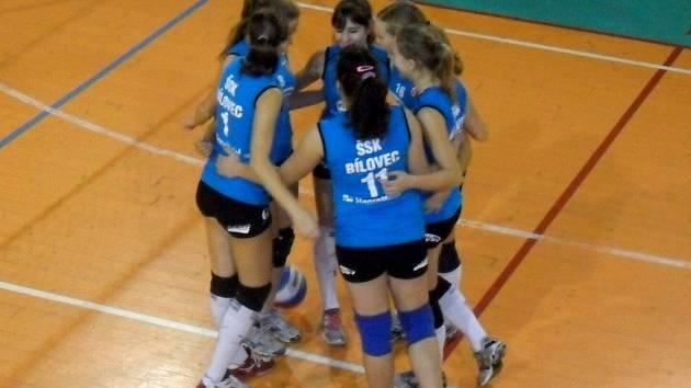 Bílovecké juniorky vyhrály v Porubě obě utkání.
