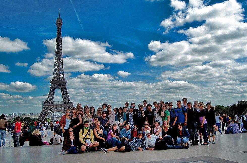 Sbor v Paříži.