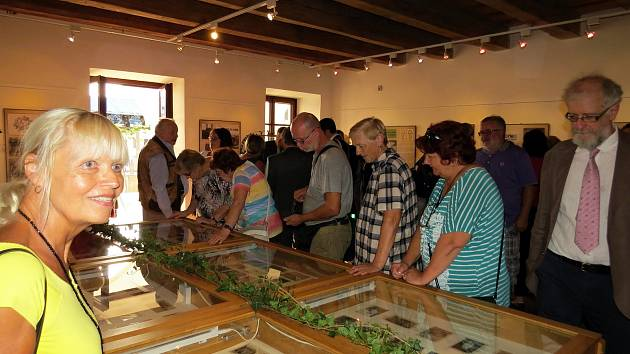 Výstava fotografií a dalších materiálů v Galerce na Staré poště v Novém Jičíně má připomínat zlatá 20. a 30. léta minulého století.