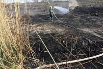 Požár ve Studénce.