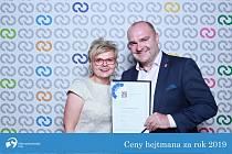 Na fotografii starostka města Bílovec Renata Mikolašová a místostarosta Zbyněk Bajnar.