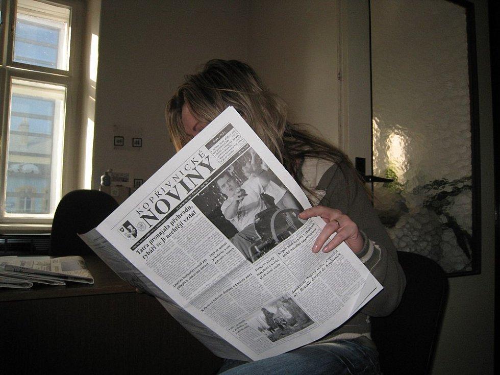 Kopřivnické noviny. Ilustrační foto.