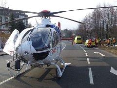Záchranáři zasahovali v pondělí 20. února v ranních hodinách u dopravní nehody osobního vozidla ve Frenštátě pod Radhoštěm.