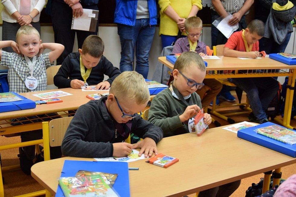 Zahájení nového školního roku ve Frenštátě pod Radhoštěm.