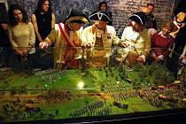 Unikátní diorama zachycující bitvu u Domašova je ojedinělé svého druhu v České republice.