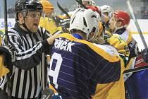 II. hokejová liga, sk. Východ, 17. kolo:  HC Kopřivnice – VHK Vsetín 1:4 (0:0, 0:1, 1:3)