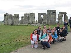 Během pětidenního pobytu navštívili oderští studenti Londýn, ale také jeho bezprostřední okolí. Mimo jiné i mystické místo nazvané Stonehenge.