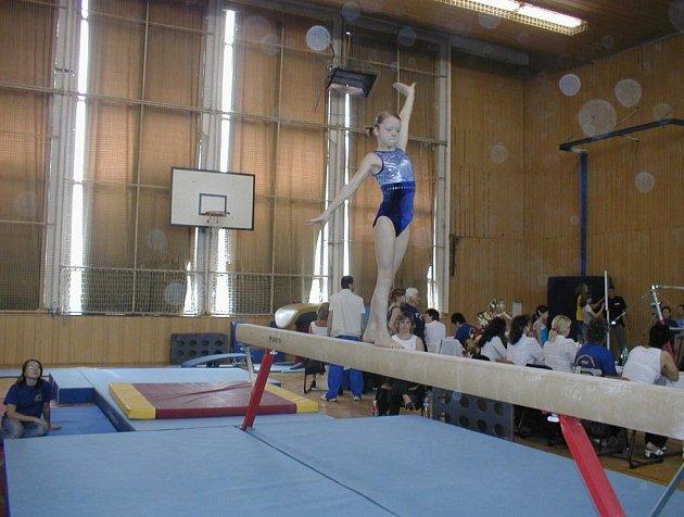 Aneta Šťastná ze Sokola Moravská Ostrava zvítězila v kategorii kadetek.