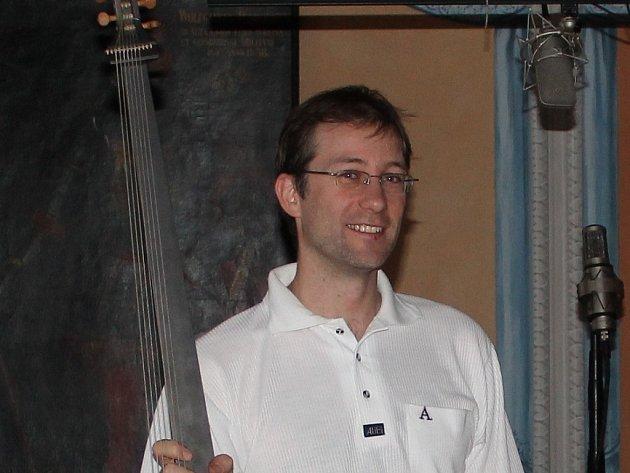 Hudebník Jan Čižmář.