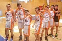 Basketbaloví mladíci BK Příbor se mohli radovat z celkového prvenství na domácím turnaji.