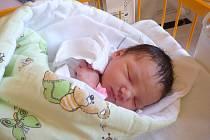 NATÁLIE ZÁTOPKOVÁ, Nový Jičín, nar. 25. 9. 2012, 47 cm, 3,30 kg. Nemocnice Nový Jičín.