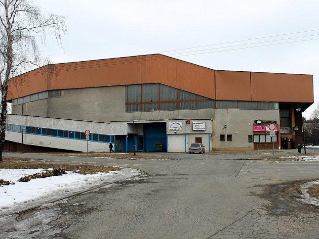 Zimní stadion ve Studénce. Ilustrační foto.