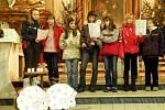 Kostel sv. Mikuláše hostil Tříkrálový novoroční koncert. Děti základních, mateřských i uměleckých škol se zpěvem rozloučily s vánočními svátky.