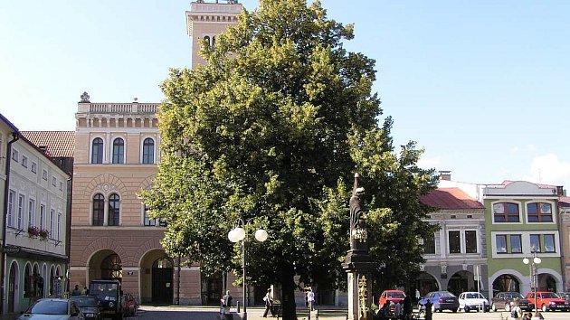 Radnice ve Frenštátě pod Radhoštěm.