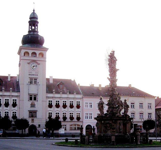 Radnice ve Fulneku. Ilustrační foto.