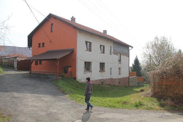 Dům, kde došlo vvraždě.