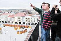 Zahraničním hostům byl v úterý umožněn výstup na novojičínskou radniční věž.