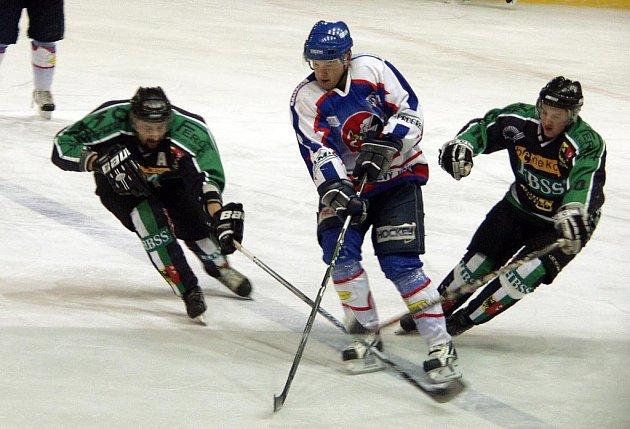 Hokejisté B týmu Nového Jičína podlehli Hornímu Benešovu.