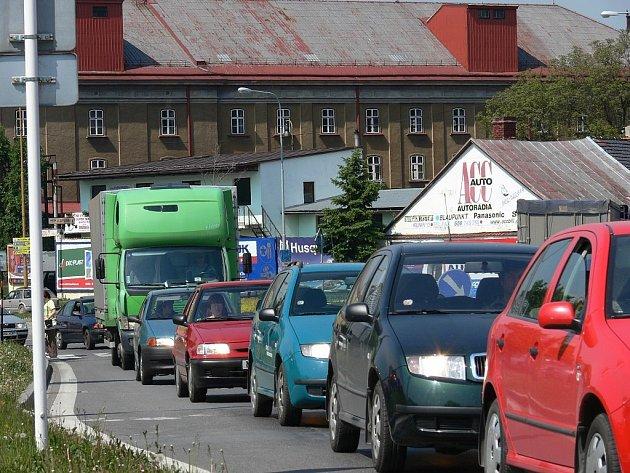 Hustota provozu v Novém Jičíně by nyní měla klesnout.