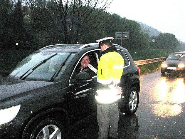 Dopravní kontrola odhalila další podnapilé řidiče. Ilustrační foto.