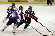Hokejisté B týmu Nového Jičína doma prohráli s Rožnovem pod Radhoštěm.
