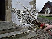 Prastarý zvyk - svěcení palem - obnovili a už dvanáct let dodržují v Příboře. Koná se vždy na Květnou neděli.