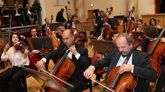 Orchestr Janáčkovy filharmonie.