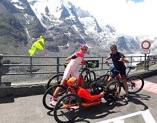 Pavel Děcký má za sebou další úctyhodný výkon, když vyjel nejvyšší horu Rakouska.