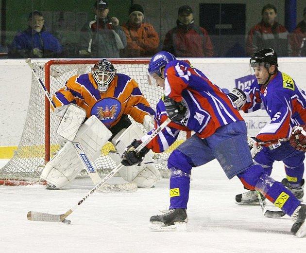 Novojičínští hokejisté přivítali na svém ledě lídra druhé ligy, skupiny Východ, Hodonín.