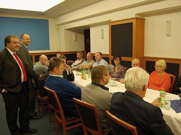 Setkání podnikatelů s vedením města jsou v Bílovci už tradicí.