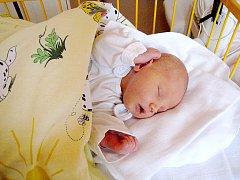 Aneta Mikešová, nar. 25. 8. 2010, 52 cm, 3,76 kg, Nový Jičín, nemocnice Nový Jičín.