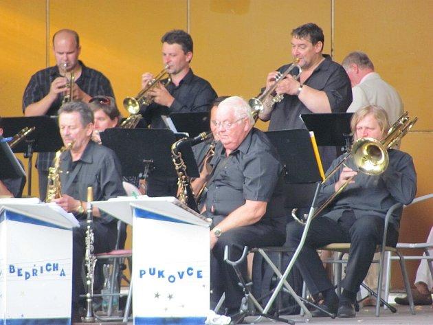 O uplynulém víkendu měli Příborští jedinečnou možnost vychutnat si swingovou klasiku v podání Big Bandu Bedřicha Pukovce.