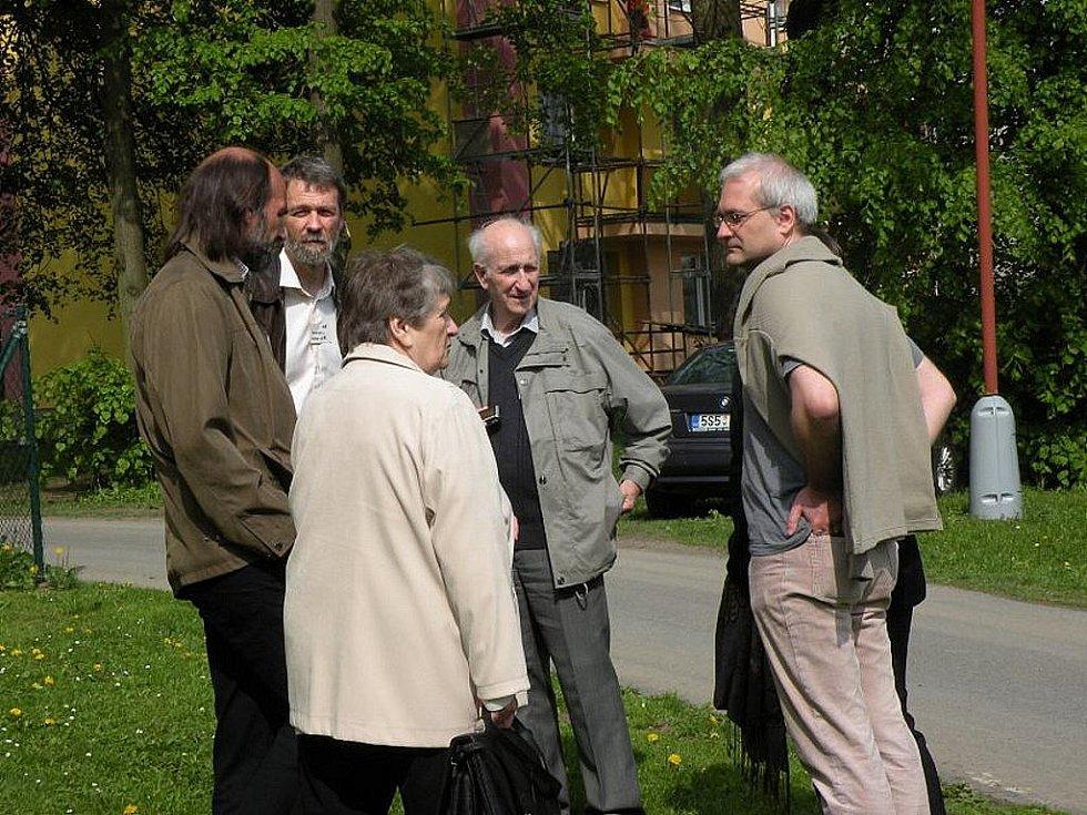 Potomci rodu Lány se sešli v Suchdolu nad Odrou.