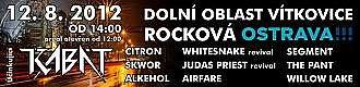 1. rockový festival ve Vítkovicích